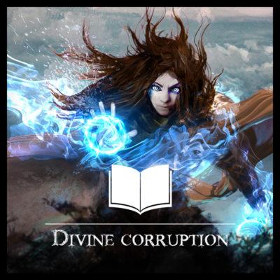 Divine Corruption deviance le roman fantasy de paria edition